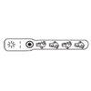 Datex Ohmeda Replacement Adhesive Tape Teddy Bears Design OxyTip® AllFit Adhesive Sensor, 1/EA MON 765359EA