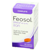 Minerals Iron: McKesson - Iron Supplement Feosol Bifera Hip & PIC 28 mg / 22 mg / 6 mg Strength Caplet 30 per Bottle
