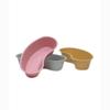 Medical Action Industries Emesis Basin Dusty Rose 500 cc Plastic, 250EA/CS MON 30102950