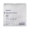 McKesson Patient Belongings Bag Medi-Pak Performance 4 x 20 x 20 Polyethylene White MON 447753EA