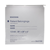 McKesson Patient Belongings Bag Medi-Pak Performance 4 x 20 x 20 Polyethylene Clear MON 447887EA