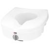 """Rehabilitation: Apex-Carex - Raised Toilet Seat E-Z Lock 5"""" White 300 lbs."""