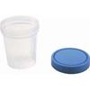 Amsino International Specimen Container AMSure® Plastic Screw Cap 120 mL (4 oz.) Sterile, 1/EA MON 30821201