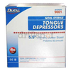 Dukal Tongue Depressor Dukal Senior 6 Inch Wood 17.5 mm Wide Blade, 500/BX MON 535519BX