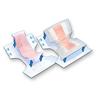 "incontinence: PBE - Booster Contour Pad TopLiner™ 14"" X 32"" 27.5 oz, 12EA/PK 8PK/CS"