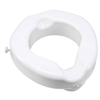 "bathroom aids: Apex-Carex - Raised Toilet Seat 4-1/4"" 500lbs."
