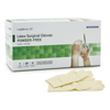 Gloves Sterile Latex Gloves: McKesson - Surgical Glove Select Sterile Powder Free Latex Smooth Ivory Size 7 Hand Specific