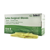 McKesson Surgical Glove Select Sterile Powder Free Latex Smooth Ivory Size 8 Hand Specific MON 31591305