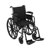 Wheelchairs: McKesson - Lightweight Wheelchair (146-K316DDA-SF)