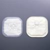 Hollister Stoma Cap 3 Inch, 11 cm Stoma, Transparent, Porous Cloth, Pre Sized, 30EA/BX MON 247641BX
