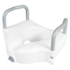bathroom aids: Apex-Carex - Classics Raised Toilet Seat With Armrests