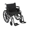 Wheelchairs: McKesson - Lightweight Wheelchair (146-K320DDA-SF)