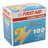 Dukal Adhesive Strip American® White Cross First Aid 1.5 x 3 Fabric Knuckle Tan Sterile, 1200/BX MON 32032012
