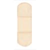 Dukal Adhesive Strip American® White Cross 1 x 3 Tricot Rectangle Tan Sterile, 1200/BX MON 32042012