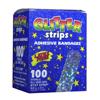 Dukal Adhesive Strip Stat Strip® .75 x 3 Plastic Rectangle Kid Design (Glitter) Sterile, 1200/BX MON 32062012