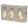 Bowman Dispensers Glove Box Holder, Triple with Dividers (GL300-0212) MON 844330EA