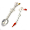 Needles Syringes Prefilled Syringes: Halyard - Gastrostomy Feeding Tube CORFLO® 16 Fr. 9 Inch Silicone Sterile