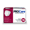 First Quality ProCare® Incontinence Briefs, Medium, 96/CS MON 32443100