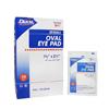 Dukal Eye Pad Cotton 1-5/8 x 2-5/8 Sterile, 50/BX MON 647277BX