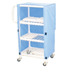 Janitorial Carts, Trucks, and Utility Carts: MJM International - Linen Cart (325T-3C)