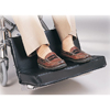 "wheelchair accessory: Skil-Care - Two-Piece Footrest Extender w/1"" Foot Pad"