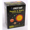 Dukal Adhesive Strip American® White Cross First Aid 0.625 x 2.25 Plastic Rectangle Kid Design (Planets / Stars) Sterile, 100/BX MON 32762012