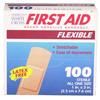 workwear dress coats: Dukal - First Aid Flexible Fabric Adhesive Bandages (1595033), 100 EA/BX, 12BX/CS