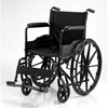Merits Health Wheelchair Dual Axle Padded Fixed Height Full Arm Mag Black 16 250 lbs. (N311NMFZMU0) MON 771907EA
