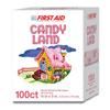 Dukal Adhesive Strip Stat Strip® 3/4 x 3 Plastic Rectangle Kid Design (Candy Land) Sterile, 100/BX MON 33142012