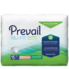 "prevail: First Quality - Prevail® Nu-Fit® Maximum Absorbency Brief, XL, (59 to 64""), 15EA/PK"
