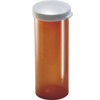 Owens Illinois Prescription Vial Plastainer® 60 Dram Amber, 65EA/CS MON 33212700