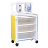 Innovative Products Isolation Cart 26 x 45 x 15 3 Drawers Yellow MON 33263400