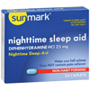 OTC Meds: McKesson - sunmark® Nighttime Sleep-Aid (3633229), 24/BX