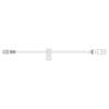BD SmartSite® Hep Lock Set (20039E), 100/CS MON 915579CS