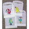 Tidi Products Bib Kids Kritters Tidi Slipover Disposable Polyethylene, 500/CS MON 573799CS