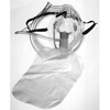 Allied Healthcare NonRebreather Mask Under the Chin One Size Fits Most Adjustable Elastic Head Strap MON 33983900