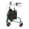 Merits Health Rollator Green Aluminum, 2EA/BX MON 34023820