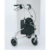 Merits Health Rollator Blue Aluminum, 2EA/BX MON 34033800