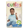 First Quality Cuties Complete Care Diaper (CCC07), 20/BG MON 34073100