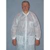 McKesson Lab Coat Medi-Pak® Performance Blue Small / Medium Long Sleeve Knee Length, 30EA/CS MON 34141100