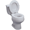 bathroom aids: Maddak - Toilet Seat Tall-ette® Standard, 3 Inch, Hinged Elevated