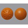 Major Pharmaceuticals Stool Softener Senna Plus Orange Flavor Tablet 10 per Box 50 mg - 8.6 mg Strength Docusate Sodium / Sennosides, 100/BX MON 35362700