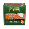 incontinence aids: Kimberly Clark Professional - Depend® Protection with Tabs