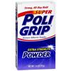 Glaxo Smith Kline Denture Adhesive Super Poligrip 1.6 oz Powder MON 728619EA