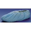 Shoe Covers: McKesson - Shoe Cover One Size Fits Most No Traction Blue NonSterile