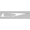 Aspen Surgical Products Scalpel Blade BD Bard-Parker Size 11 Carbon Steel MON 37112500