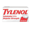 first aid medicine and pain relief: Johnson & Johnson - Tylenol® Regular Strength Acetaminophen Tablets, 325 mg