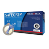 Microflex Medical Exam Glove SafeGrip® NonSterile Powder Free Latex Ambidextrous Textured Fingertips Blue Not Chemo Approved Small MON 37531304