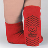 Hospital Apparel: PBE - Slipper Sock Red Bari 3XL