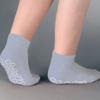 Stoko-gray: PBE - Slipper Socks Tred Mates Adult Medium Gray Ankle High